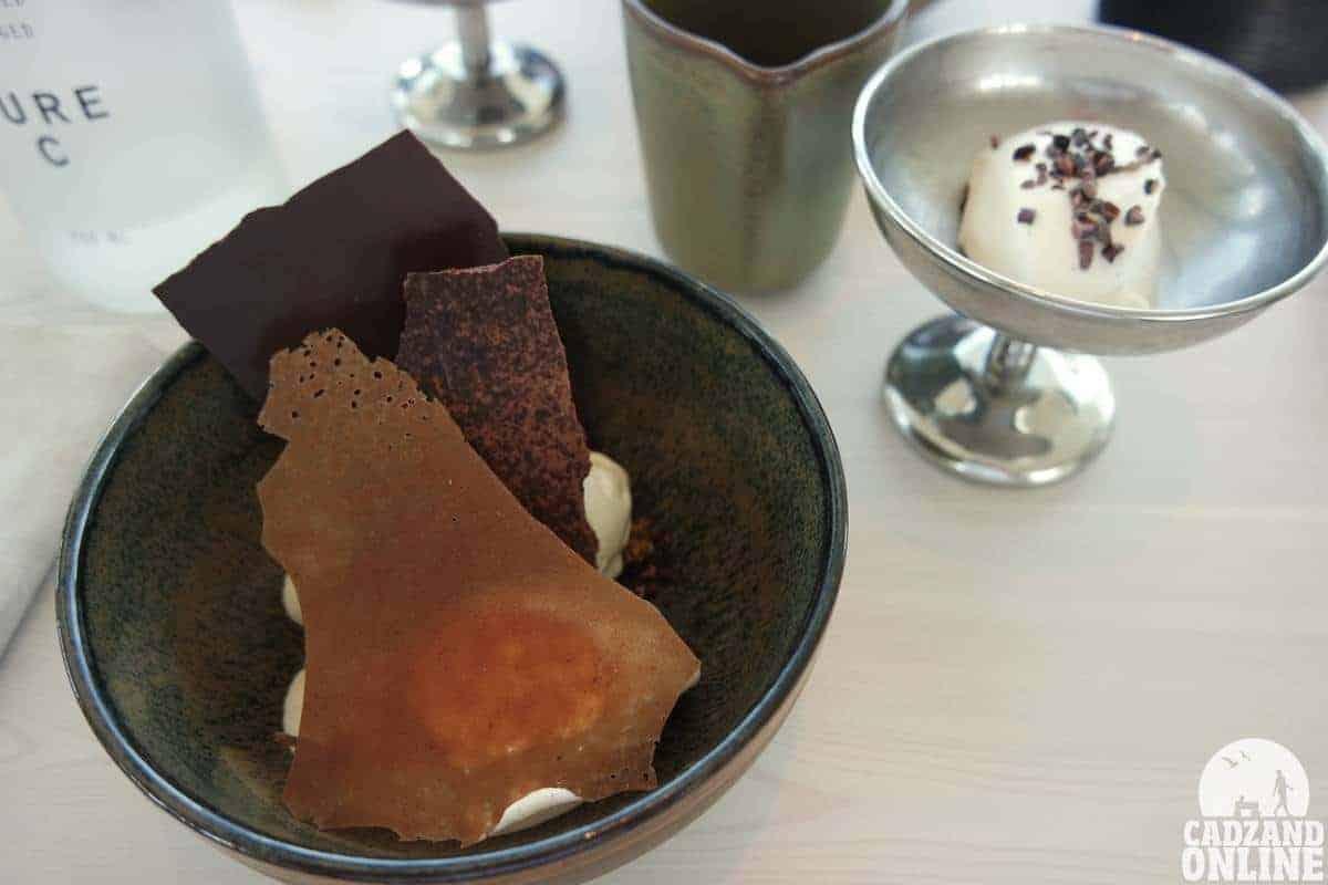 Dessert menu AIRrepublic Cadzand
