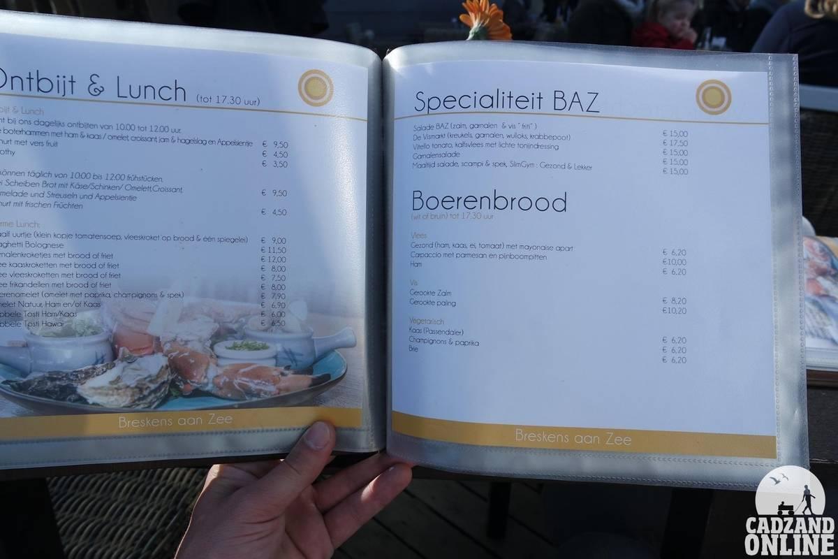 Lunchkaart-BAZ