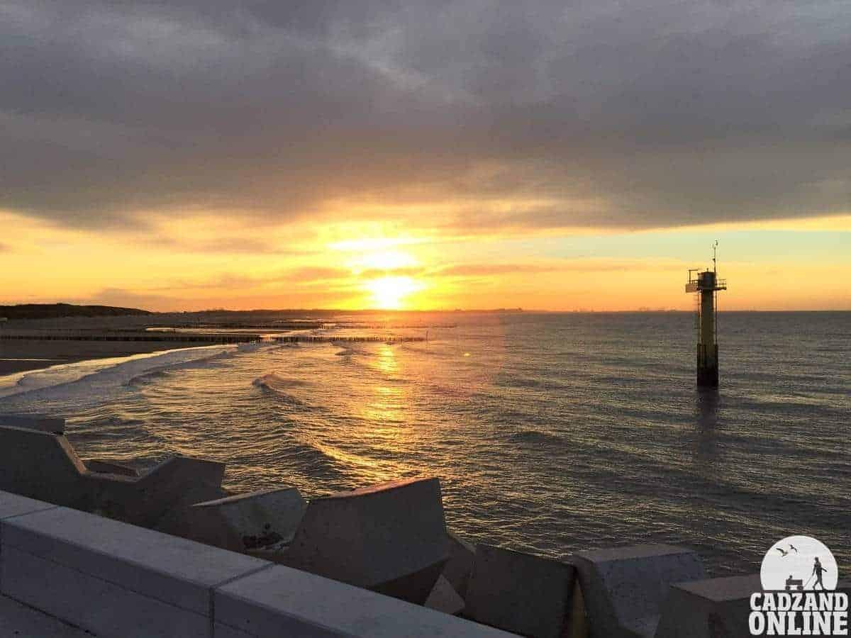 Jachthaven-Cadzand-Bad-zonsondergang