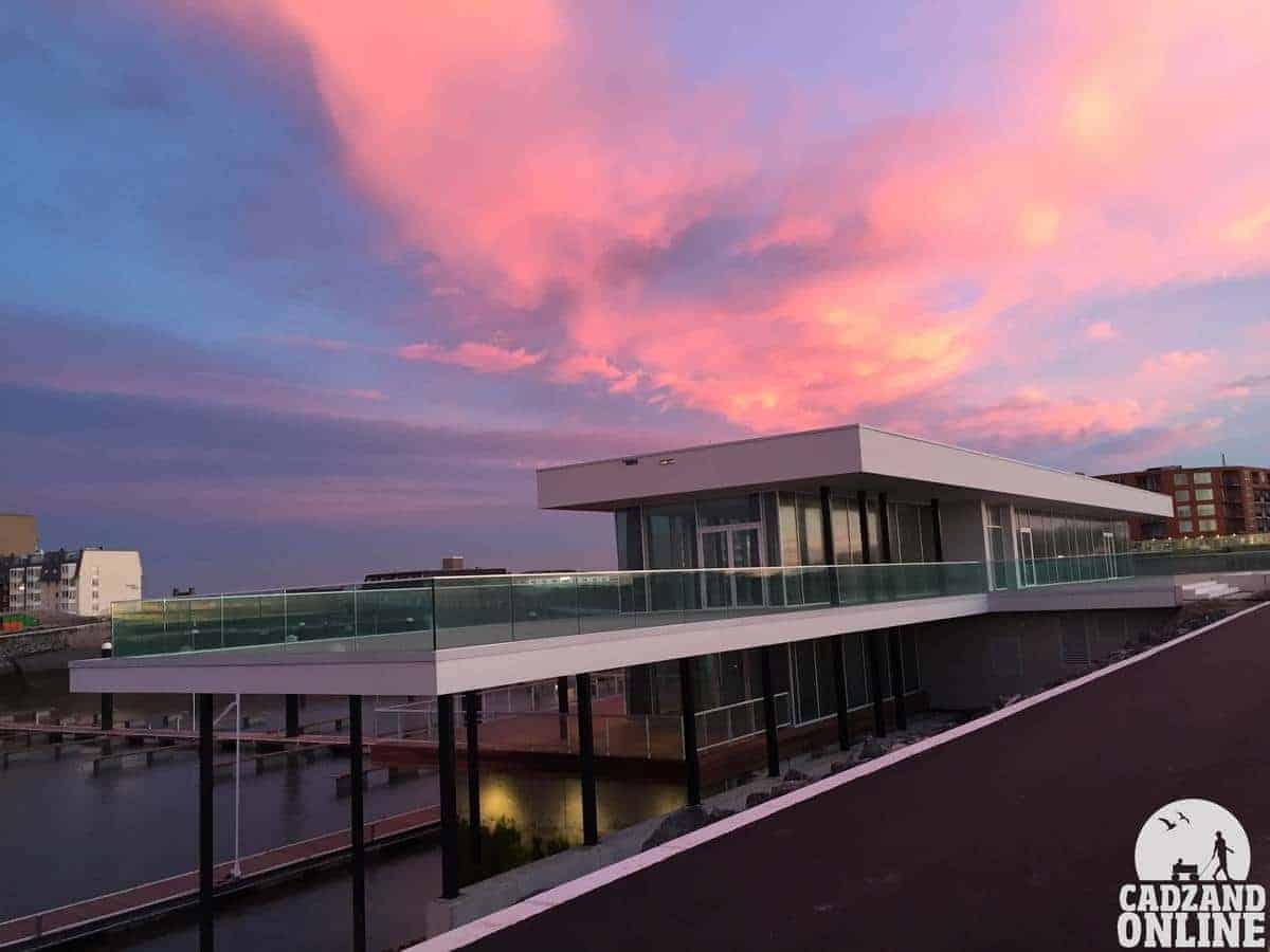 Nieuwe-clubgebouw-jachthaven-Cadzand-Bad