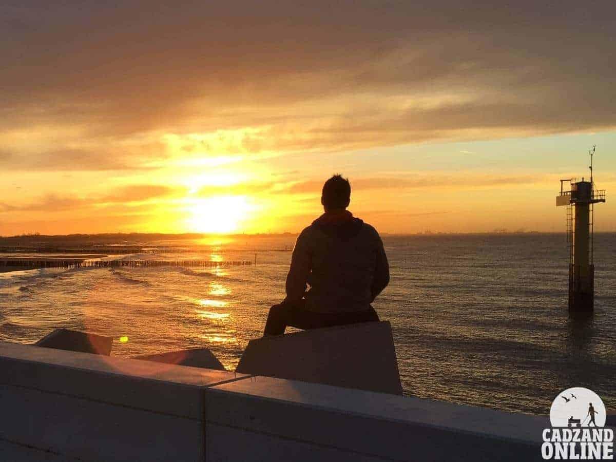 Zonsondergang-Nathan-Ultee-Jachthaven-Cadzand-Bad