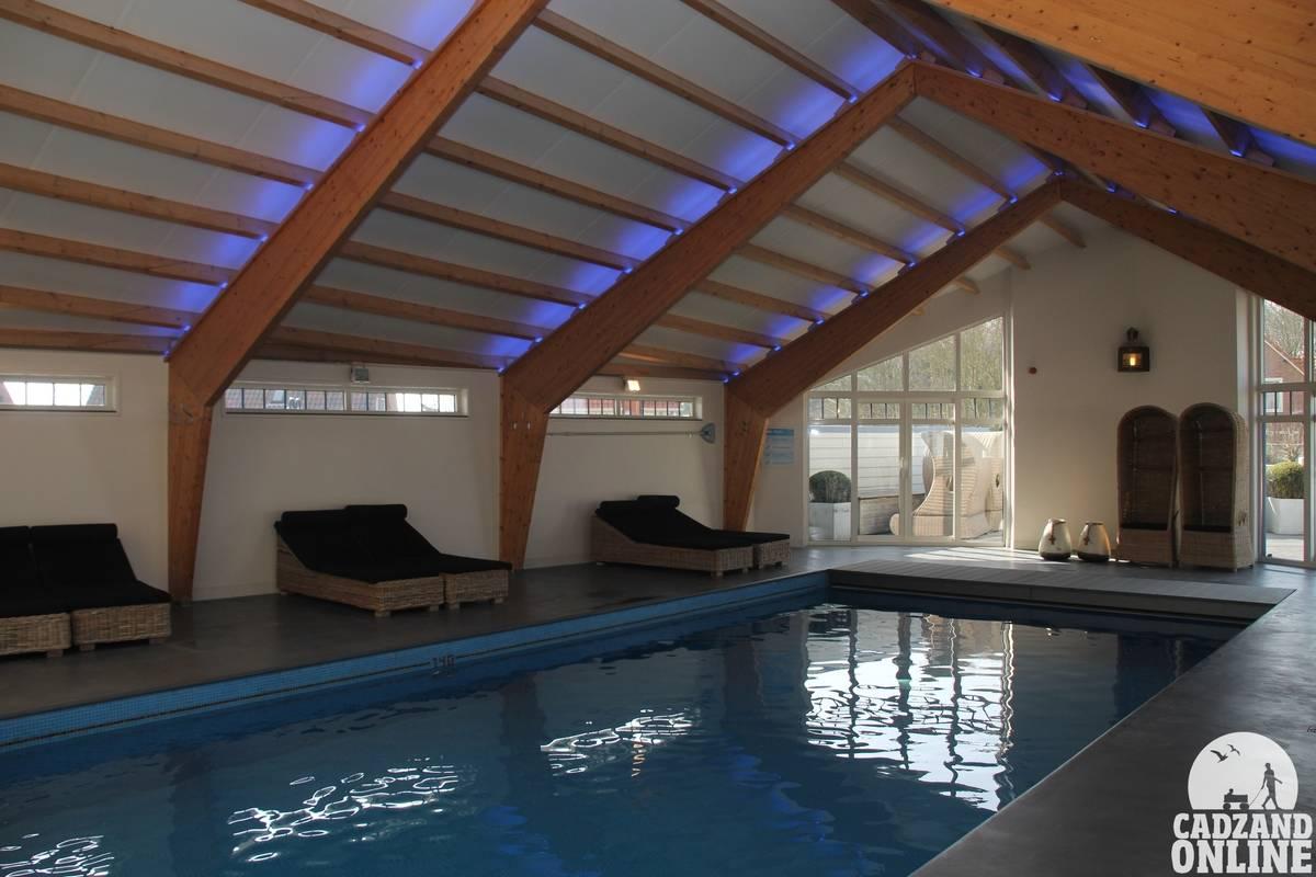 Zwembad Hotel Noordzee, Vakantie Cadzand-Bad