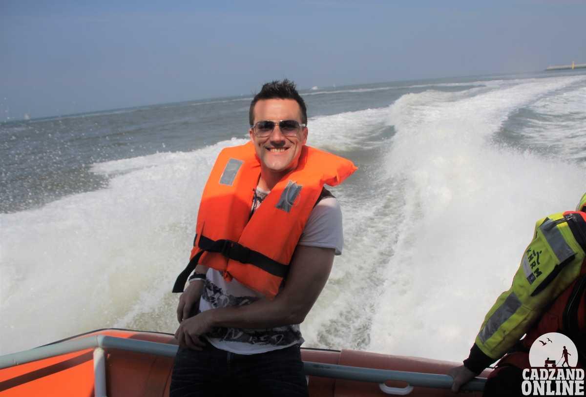 Reddingsboot-zee-Cadzand