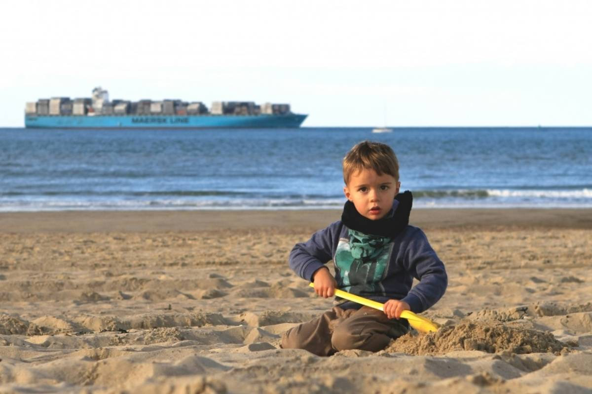 strand Cadzand-Bad bij DOK14