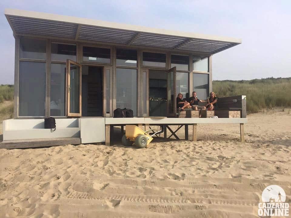 Strandhuisje Cadzand via gast